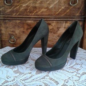 *HOST PICK!!! Cole Haan green suede feel heels